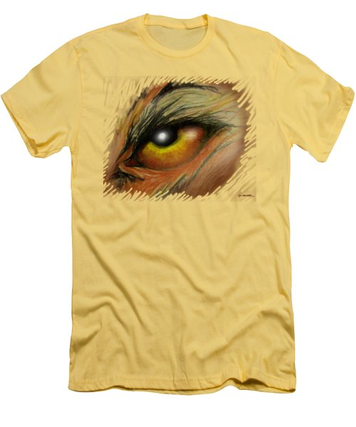 Eye Of The Beast Men's T-Shirt (Slim Fit) by Kevin Middleton