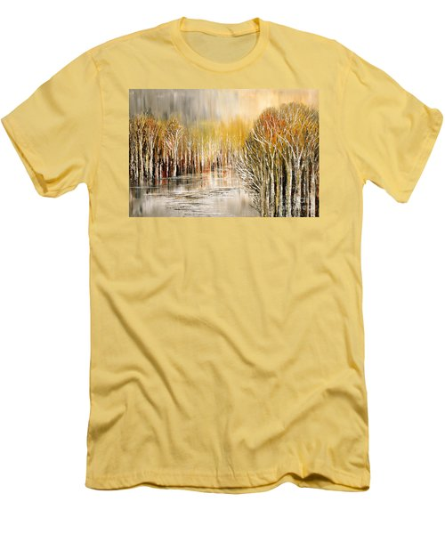As A Dream Men's T-Shirt (Slim Fit) by Tatiana Iliina