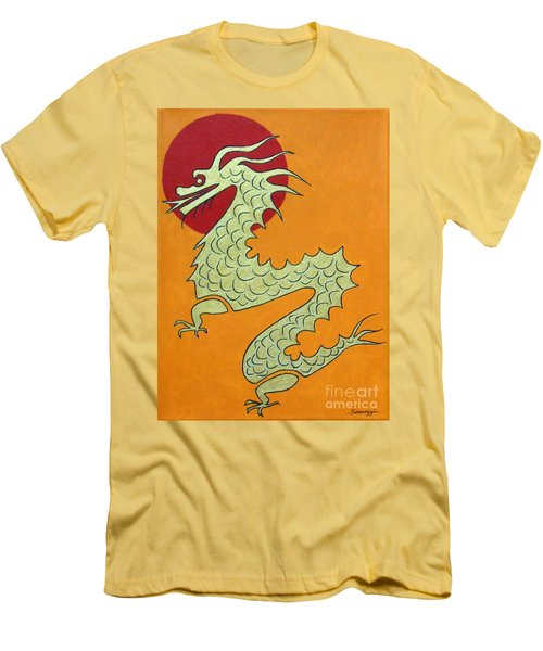 Asian Dragon Icon No. 1 Men's T-Shirt (Athletic Fit)