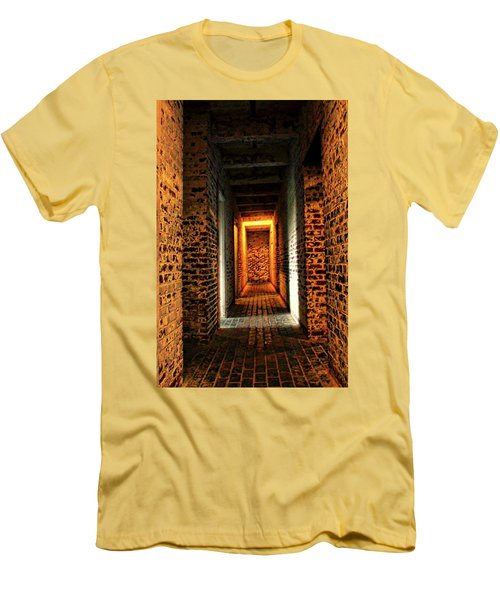 Men's T-Shirt (Slim Fit) featuring the photograph Atalaya by Jessica Brawley