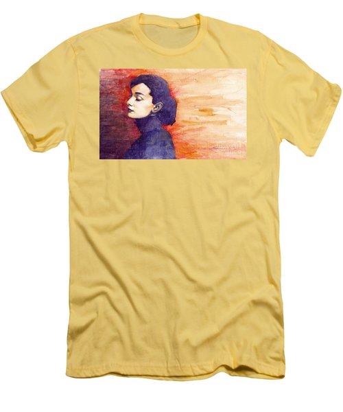 Audrey Hepburn 1 Men's T-Shirt (Athletic Fit)