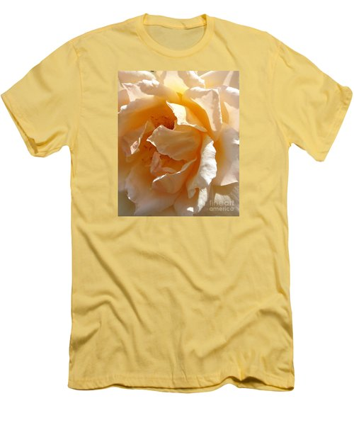 Men's T-Shirt (Slim Fit) featuring the photograph August Rose 1 by Fred Wilson