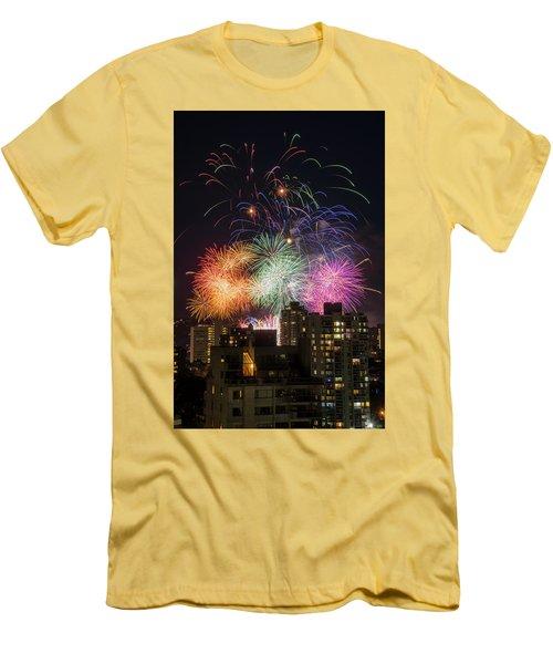 Australia 2 Men's T-Shirt (Slim Fit) by Ross G Strachan