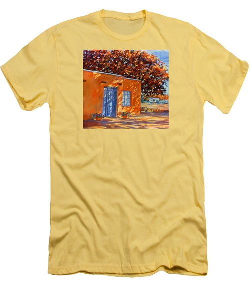 Autumn Afternoon Men's T-Shirt (Slim Fit) by Ann Peck