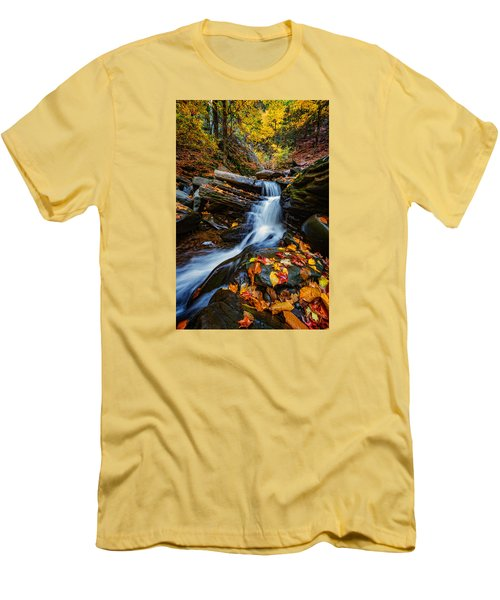 Autumn In The Catskills Men's T-Shirt (Athletic Fit)