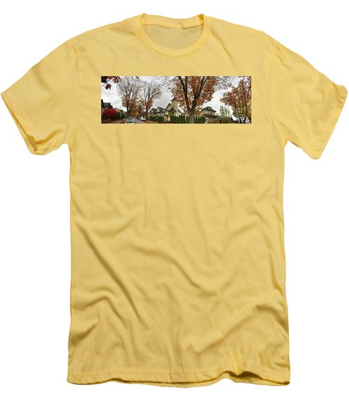 Autumn In The City 11 Men's T-Shirt (Athletic Fit)