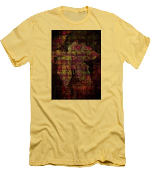 Autumn Is Here Men's T-Shirt (Slim Fit) by Mimulux patricia no No