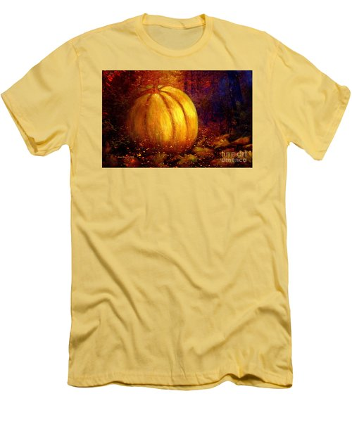 Autumn Landscape Painting Men's T-Shirt (Athletic Fit)