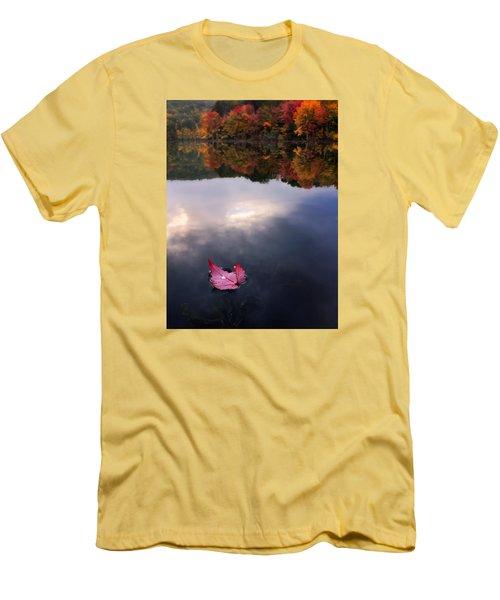 Autumn Mornings Iv Men's T-Shirt (Slim Fit) by Craig Szymanski