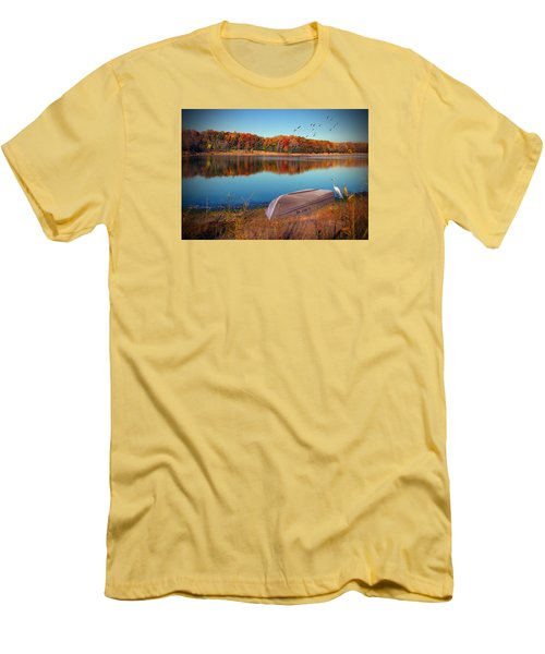 Autumn Serenade Men's T-Shirt (Athletic Fit)