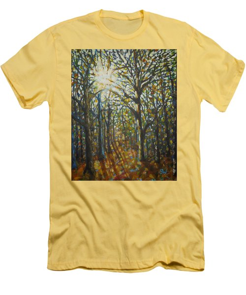 Autumn Wood Men's T-Shirt (Athletic Fit)