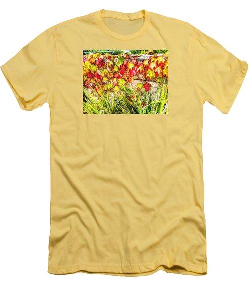 Autumn's Kiss Men's T-Shirt (Athletic Fit)