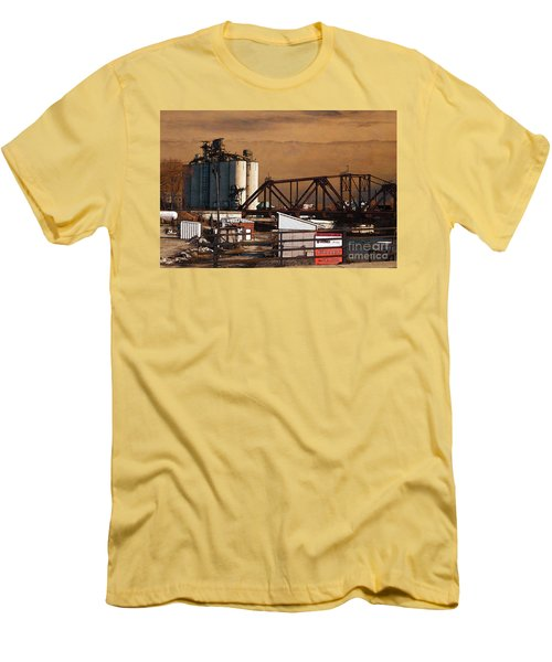 Available Men's T-Shirt (Slim Fit) by David Blank