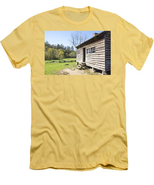 Back Porch Men's T-Shirt (Slim Fit) by Ricky Dean
