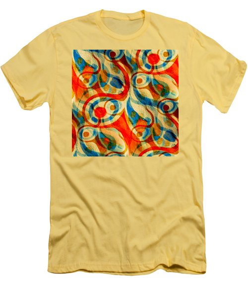 Background Choice Coffee Time Abstract Men's T-Shirt (Athletic Fit)
