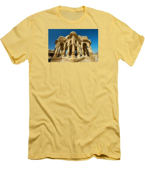 Men's T-Shirt (Athletic Fit) featuring the photograph Bada Bagh  by Yew Kwang