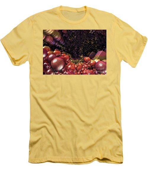 Ballsville Men's T-Shirt (Slim Fit) by Melissa Messick