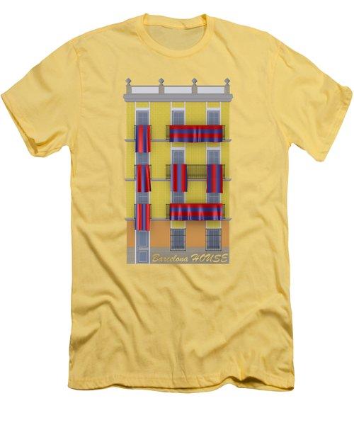 Barcelona House Men's T-Shirt (Athletic Fit)