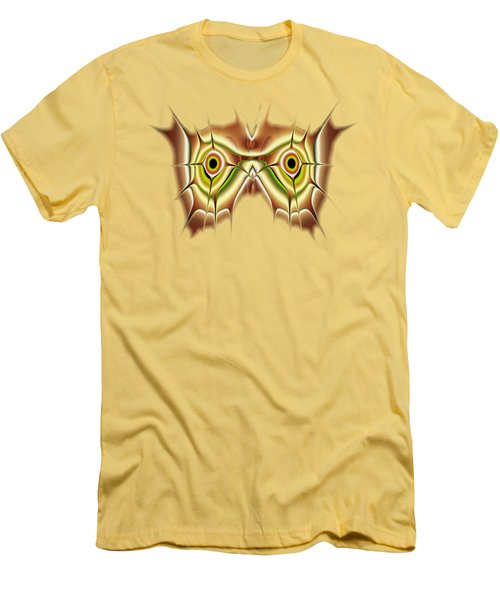 Barn Owl Men's T-Shirt (Slim Fit) by Anastasiya Malakhova