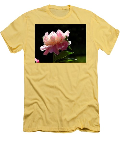 Men's T-Shirt (Slim Fit) featuring the photograph Basking In The Sun by Betty-Anne McDonald