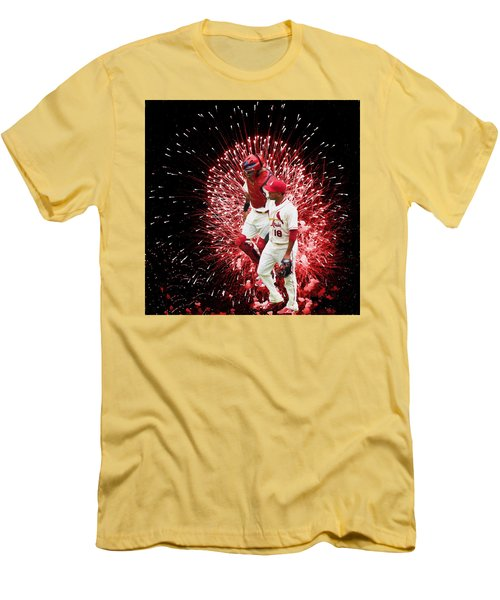 Battery Mates Men's T-Shirt (Slim Fit) by John Freidenberg