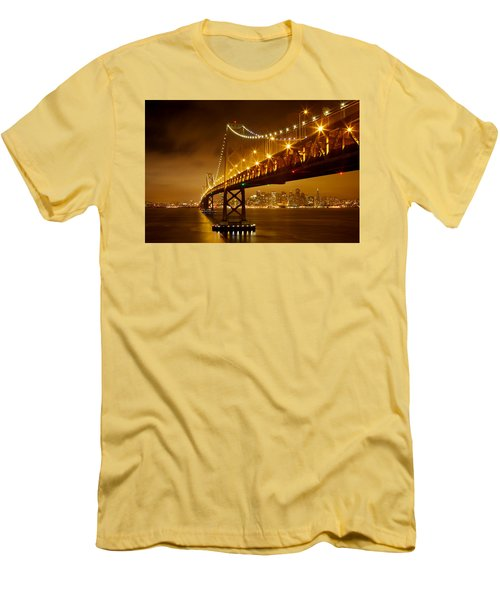 Bay Bridge Men's T-Shirt (Athletic Fit)