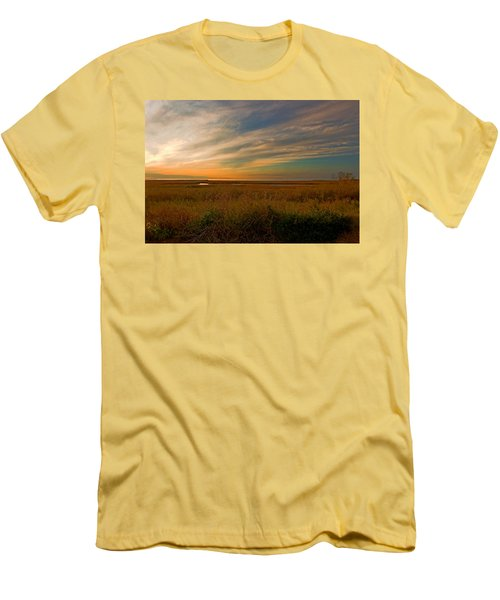 Bayside Sunset Men's T-Shirt (Athletic Fit)