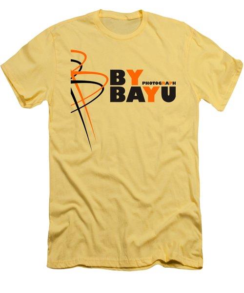 By Bayu Men's T-Shirt (Slim Fit) by Sheila Mcdonald