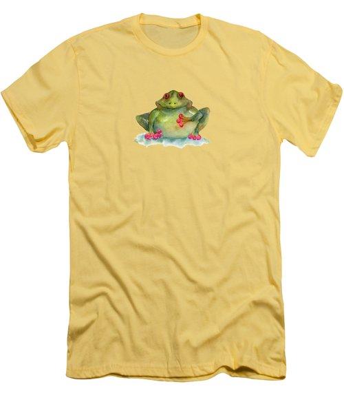 Be Still My Heart Men's T-Shirt (Slim Fit) by Amy Kirkpatrick