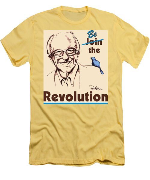Be The Revolution Men's T-Shirt (Athletic Fit)
