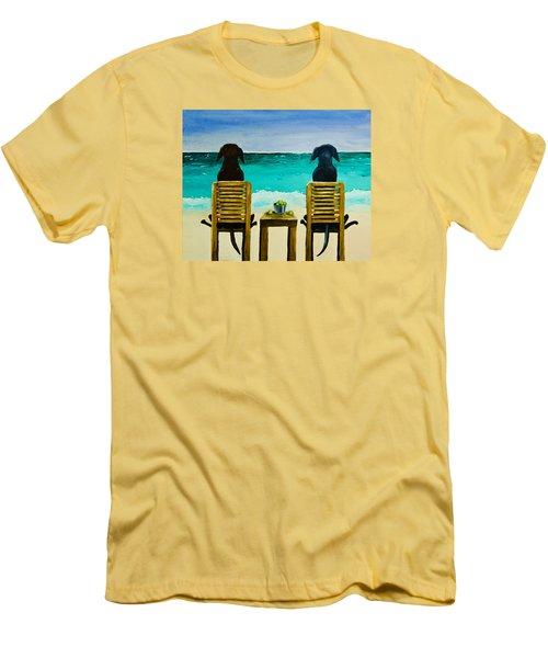 Beach Bums Men's T-Shirt (Athletic Fit)