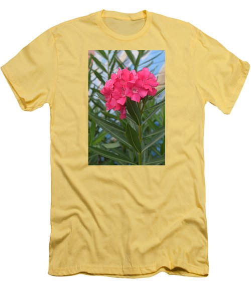 Beach Flower Men's T-Shirt (Slim Fit) by Deborah  Crew-Johnson