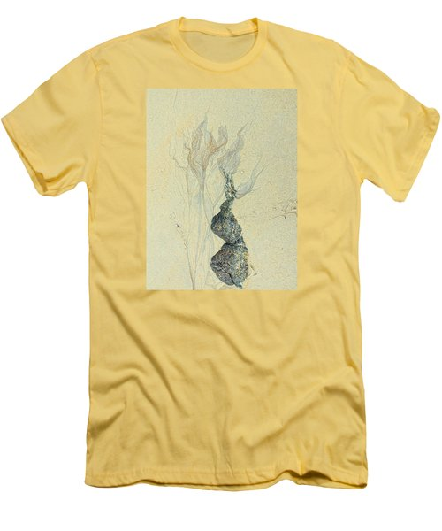 Beach Sand 3 Men's T-Shirt (Slim Fit) by Marcia Lee Jones