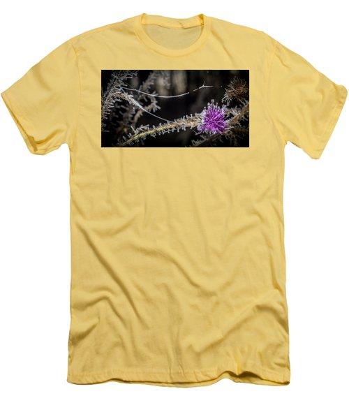 Beadwork Men's T-Shirt (Slim Fit) by Annette Berglund