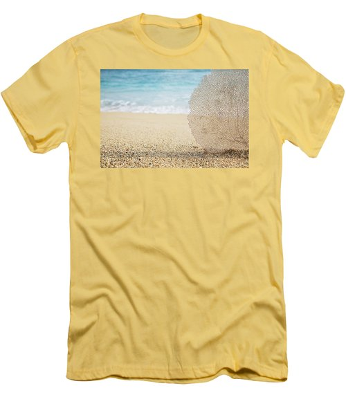 Beautiful Coral Element 1 Men's T-Shirt (Slim Fit) by Brandon Tabiolo - Printscapes