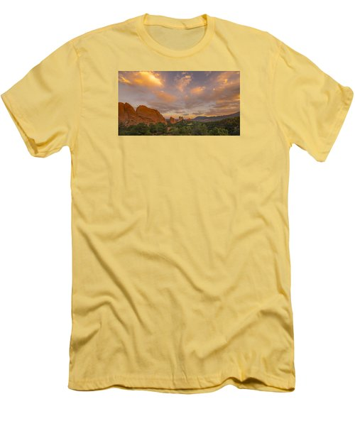 Beautiful Earth And Sky Men's T-Shirt (Slim Fit) by Tim Reaves