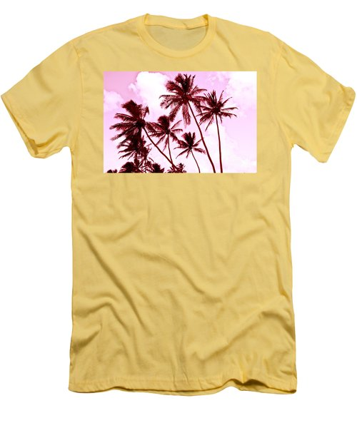 Beautiful Palms Of Maui 13 Men's T-Shirt (Slim Fit) by Micah May