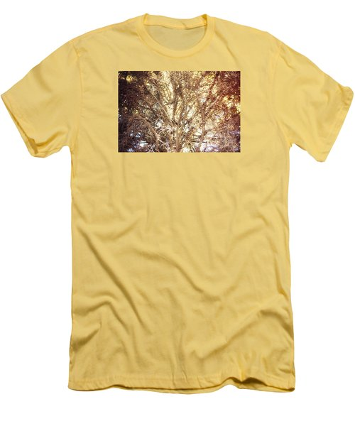Beauty And The Branches Men's T-Shirt (Slim Fit) by Janie Johnson