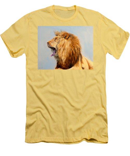 Bed Head - Lion Men's T-Shirt (Athletic Fit)