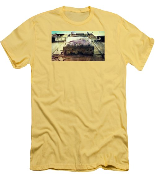 Bedclothes Men's T-Shirt (Slim Fit) by Vittorio Chiampan
