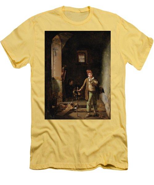 Bedroom Or The Little Groundhog Shower Men's T-Shirt (Athletic Fit)