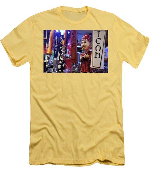 Beer Taps Men's T-Shirt (Slim Fit) by Tim Stanley