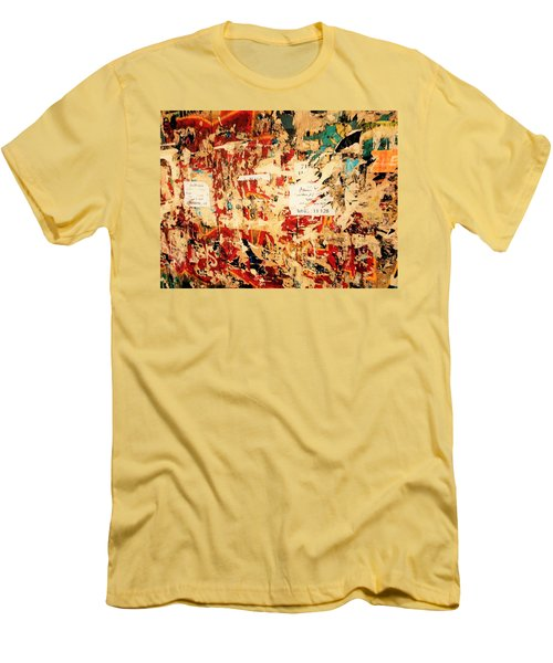 Beirut Funky Wall Art  Men's T-Shirt (Athletic Fit)