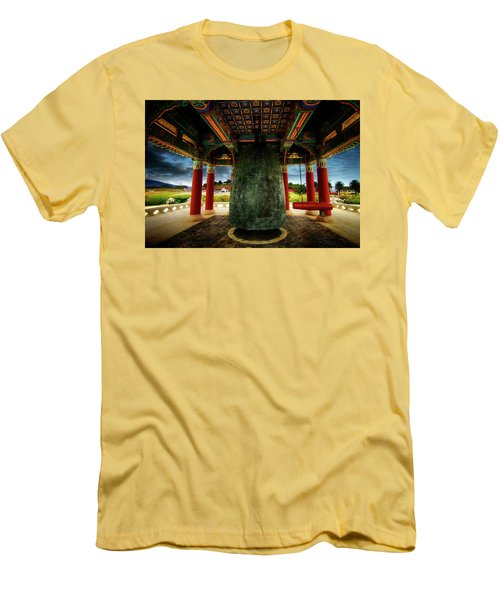 Men's T-Shirt (Slim Fit) featuring the photograph Bell Of Friendship 2 by Joseph Hollingsworth