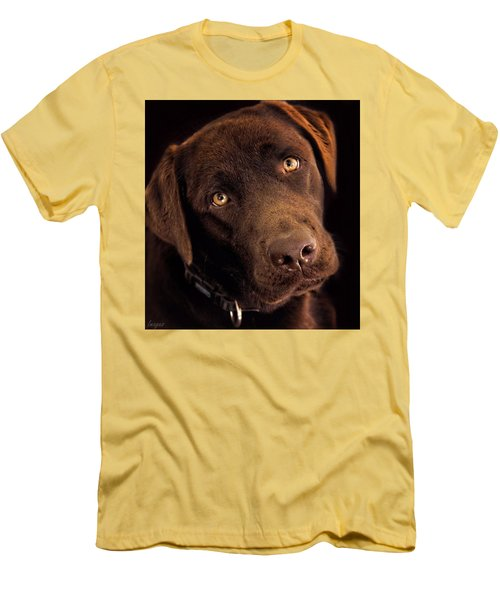 Men's T-Shirt (Slim Fit) featuring the photograph Benji by Wallaroo Images