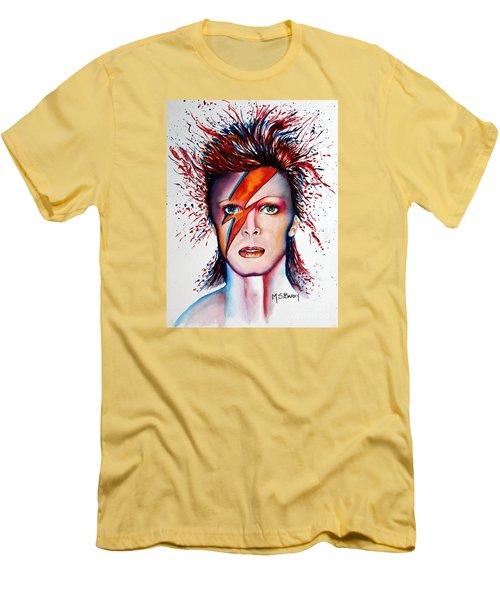 Bi Bi Bowie Men's T-Shirt (Athletic Fit)