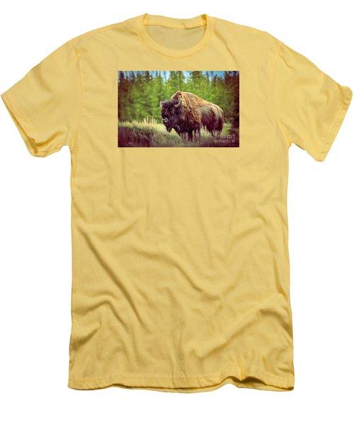 Big Daddy Men's T-Shirt (Slim Fit) by Robert Bales