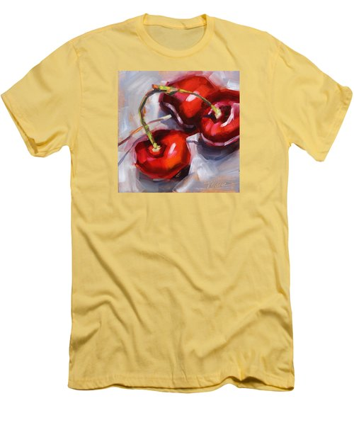 Bing Cherries Men's T-Shirt (Athletic Fit)