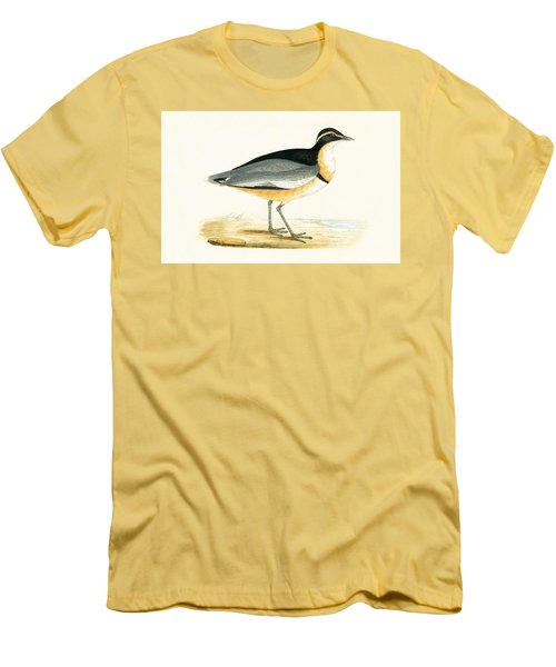 Black Headed Plover Men's T-Shirt (Slim Fit) by English School