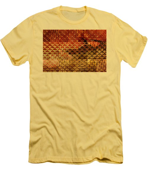 Black Mountain Men's T-Shirt (Slim Fit) by Don Gradner